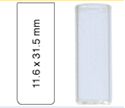 Picture of Vial N12-2, SV, c, 11.6x31.5, flat 702018
