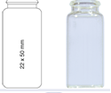 Picture of Vial N18-10, SCV, c, 22x50, flat 70272