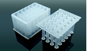 Picture of 1.0 ml 96-Well Deep Well Plate, U-Bottom, Round well, non-sterile, 5/pk, 50/cs